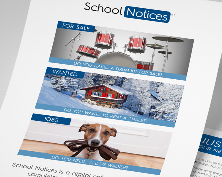 School Notices flyer